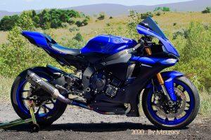 Motorcycle on mountain near Scranton